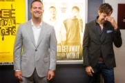 Jon Berrie and John Cianciolo / T.O. Indie Film Fest. PIC: Ray Vella CGA, CPA / rvphotos.ca