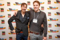 John Cianciolo and Andrew Dunlop / T.O. Indie Film Fest. PIC: Ray Vella CGA, CPA / rvphotos.ca