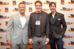 Jon Berrie, Andrew Dunlop and John Cianciolo / T.O. Indie Film Fest. PIC: Ray Vella CGA, CPA / rvphotos.ca