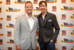 Jon Berrie and John Cianciolo / T.O. Indie Film Fest. PIC: Ray Vella CGA, CPA / rvphotos.ca